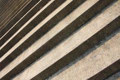 piaska deseniowy krok Zdjęcie Royalty Free