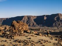 Piaska i kamienia pustynia obrazy royalty free