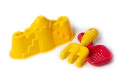 Piaska i plaży zabawki Obraz Royalty Free