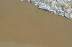 Piaska i wody tło Zdjęcie Royalty Free