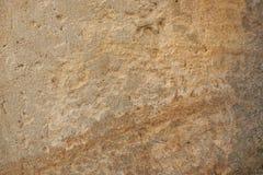 Piaska kamienia powierzchnia Zdjęcie Royalty Free