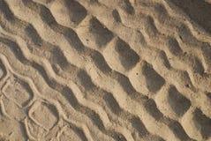 piaska ślad Zdjęcie Royalty Free