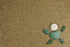 piaska morza kamienie Obrazy Royalty Free