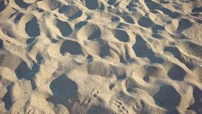 Piaska morze Zdjęcia Royalty Free