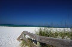 piaska plażowy biel Obrazy Stock