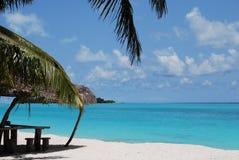 piaska plażowy biel Zdjęcie Royalty Free