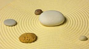 piaska planu słoneczny kamieni system Fotografia Royalty Free