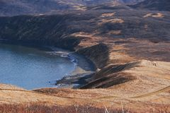 Piaska punkt Alaska Zdjęcia Royalty Free