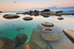 Piaska Schronienie, Jeziorny Tahoe Obraz Royalty Free