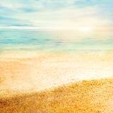 piaska świetny zmierzch Zdjęcia Royalty Free