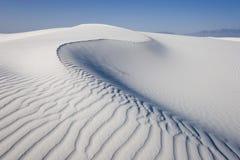 piaski biały Fotografia Royalty Free
