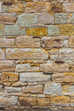 Piaskowa tła ścienna tekstura Zdjęcie Royalty Free
