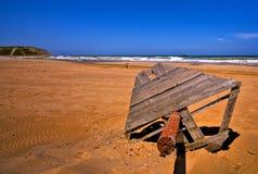 piaskowata hdr plażowa czerwień obrazy royalty free