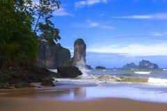 Piaskowata plaża obraz stock