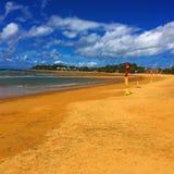 Piaskowata plaża Zdjęcie Royalty Free