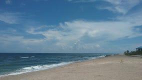 Piaskowata plaża Obrazy Royalty Free