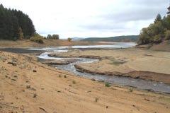 Piaskowata rzeka Fotografia Royalty Free
