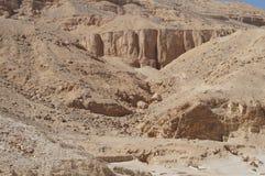 Piaskowate góry Egipt Fotografia Royalty Free