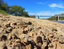 Piaskowate plaże Obrazy Royalty Free