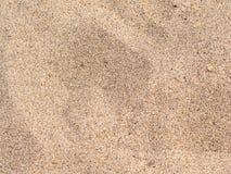 Piaskowatej plaży tło Fotografia Royalty Free
