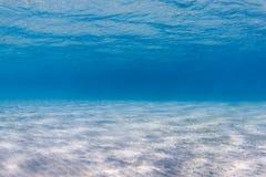 Piaskowaty dno morskie zdjęcia royalty free
