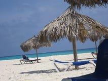 piaskowaty plażowy ocean Zdjęcia Royalty Free