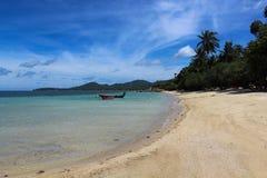 piaskowaty plażowy ocean Zdjęcie Stock