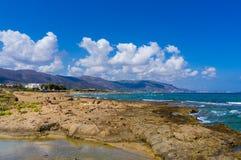 piaskowaty plażowy ocean Obrazy Stock