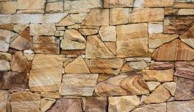 Piaskowcowy ściana z cegieł tło Obraz Royalty Free