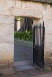 Piaskowcowy portal Zdjęcia Royalty Free