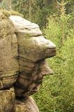 Piaskowiec głowa Obrazy Royalty Free