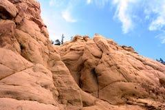 Piaskowiec skała Zdjęcie Stock
