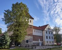 Piast Castle in Gliwice Poland.. Royalty Free Stock Photos
