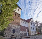 Piast Castle in Gliwice Poland.. Royalty Free Stock Image