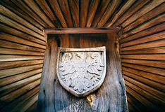 Piast Eagle - coat of arms Stock Photo
