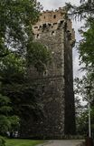 Piast Tower - remaining of the Cieszyn Castle in Poland royalty free stock image