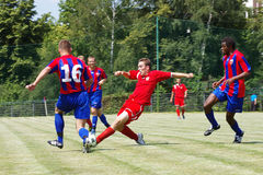 Piast vs polonia Stock Photos