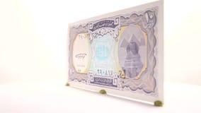 10 Piastes from Egypt stock video
