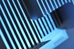 Piastra di raffreddamento di alluminio Fotografia Stock