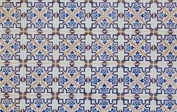 Piastrella di ceramica d'annata Fotografie Stock