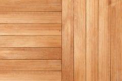 Piastrella la struttura di legno con l'orizzonte naturale del fondo dei modelli Fotografia Stock
