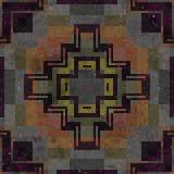 Piastrella la struttura senza cuciture generata mosaico Immagini Stock Libere da Diritti