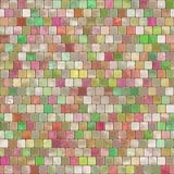 Piastrellatura del mosaico Fotografie Stock Libere da Diritti
