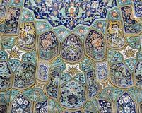Piastrellatura della moschea Fotografia Stock Libera da Diritti