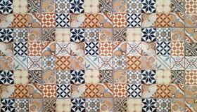 Piastrelle di ceramica nello stile orientale immagini stock