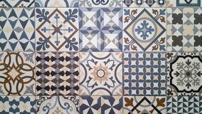 Piastrelle di ceramica nello stile orientale immagini stock libere da diritti