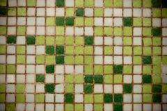 Piastrelle di ceramica quadrate stagionate Immagini Stock Libere da Diritti