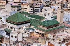Mattonelle marocchine in un palazzo fotografia stock immagine di