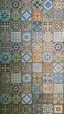 Piastrelle per pavimento artistiche della decorazione domestica Fotografia Stock Libera da Diritti