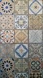 Piastrelle per pavimento artistiche della decorazione domestica Immagini Stock Libere da Diritti